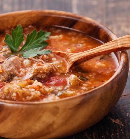 Фотографии грузинского супа