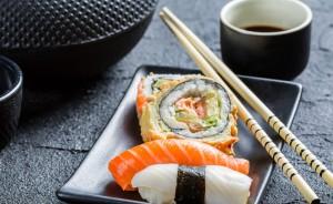 фотографии суши с тунцом