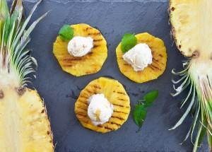 фото ананасов на гриле