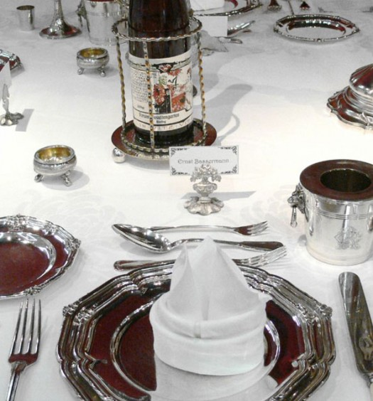 Сервировка стола к новогодним праздникам