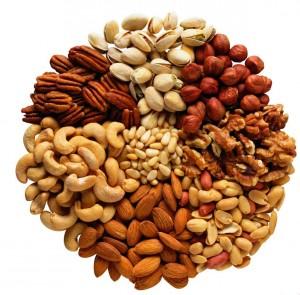 Обратите внимание на орехи и сухофрукты