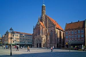 Нюрнберг Рыночная площадь