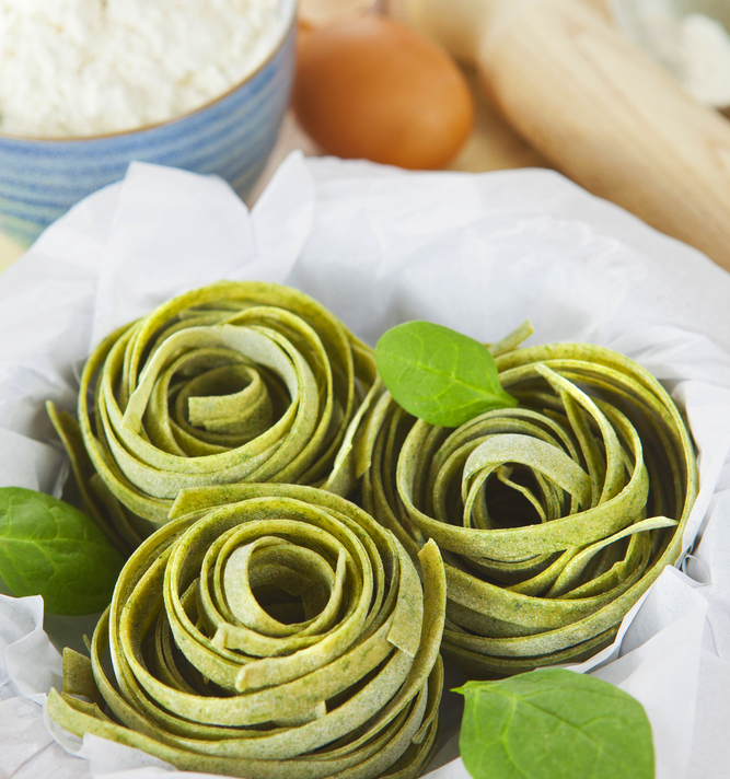 Зеленая паста