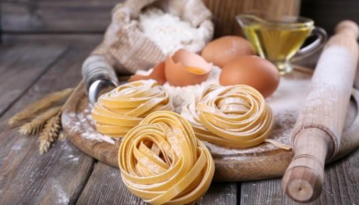 Небанальная яичная паста