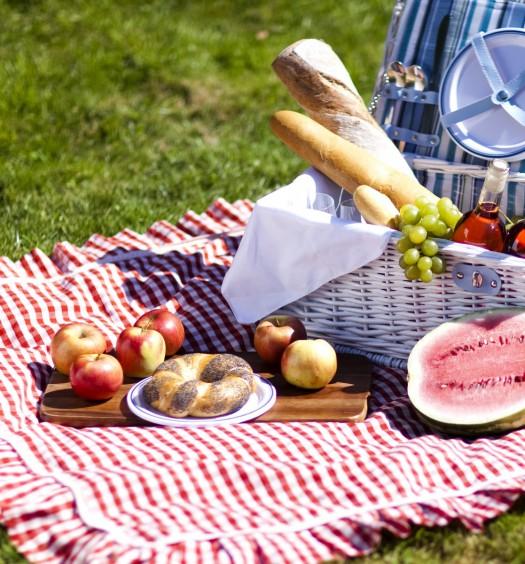Идеальная продуктовая корзина для пикника