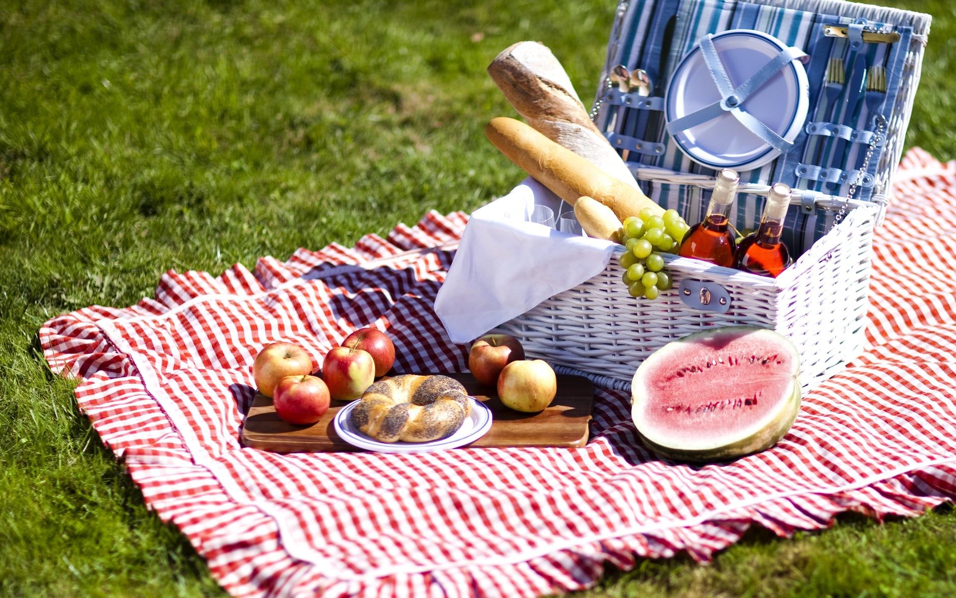 Открытка на пикник