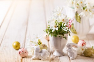 Свежие цветы для Пасхи