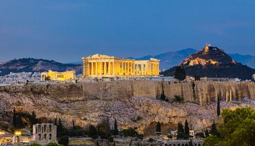 Традиционные греческие завтраки в Афинах
