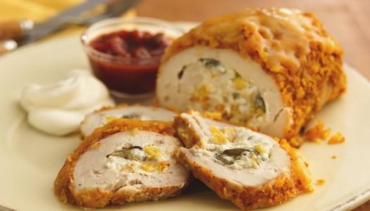 Куриные рулеты с сыром