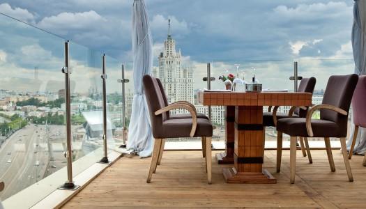 Топ-5 ресторанов Москвы с верандой на крыше
