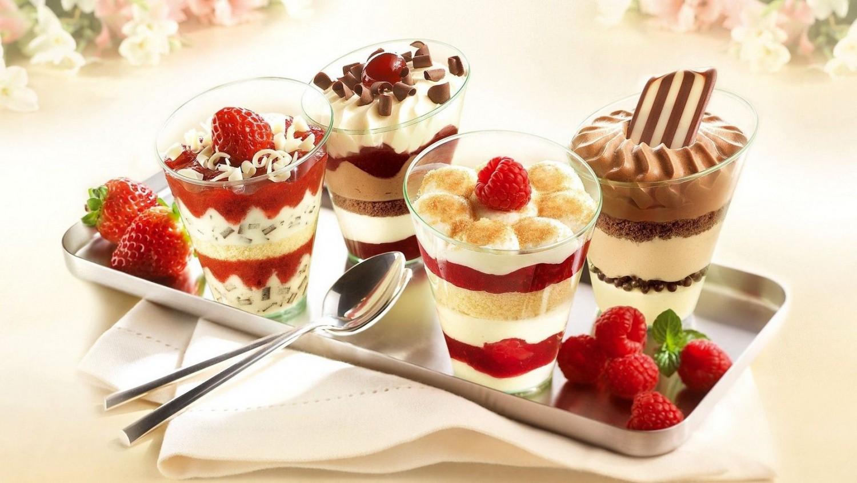 удивительные десерты