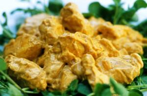 куриный салат с карри рецепт