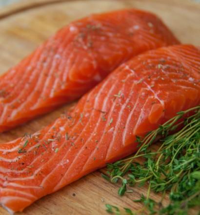 как разделывать лосося
