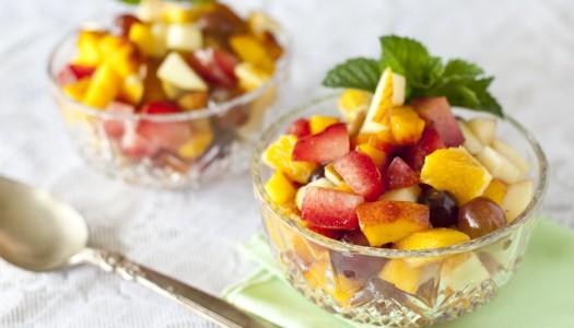 2 летних фруктовых салата