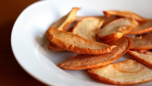 Как сделать чипсы из яблок?