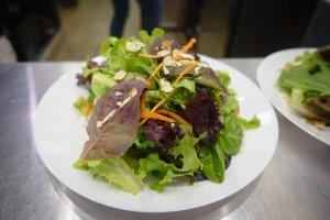 салат с медом и зеленью