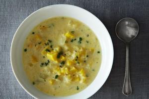 суп баклажанный