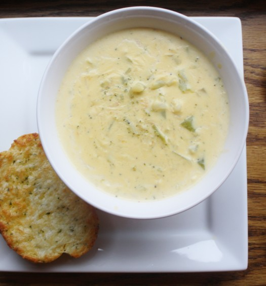 рецепт супа с сыром и сливками