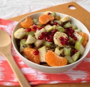 рецепт салата с кумкватом