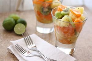 рецепт салата с лаймом и медом