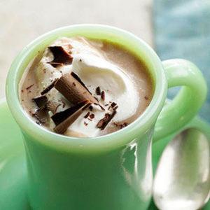 рецепт кокосового горячего шоколада