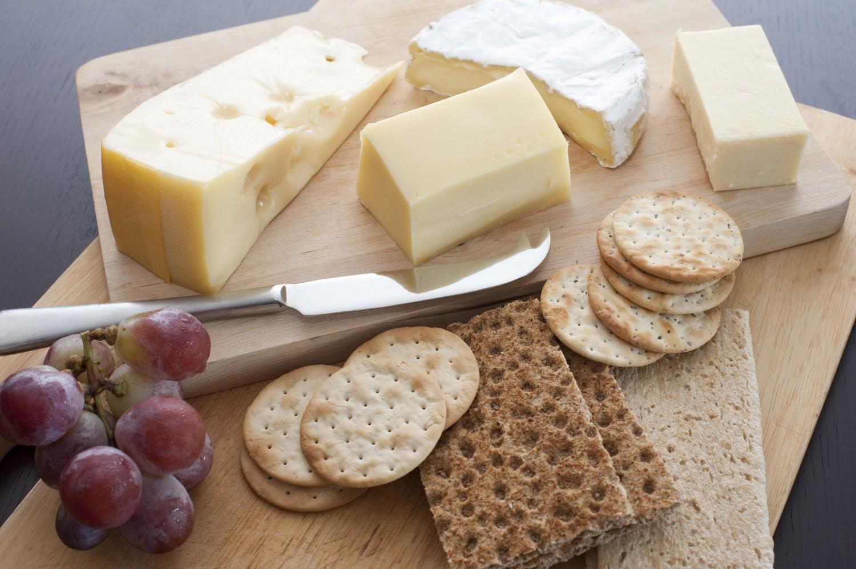 сервировка сырной тарелки
