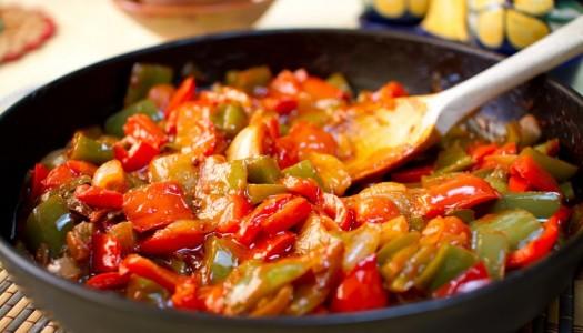 Традиционное испанское блюдо: Писто