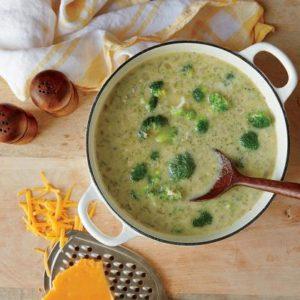 рецепт крем супа из брокколи