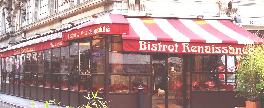 bistrot renaissance paris