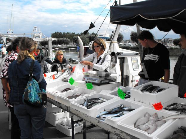 рыбный рынок франция