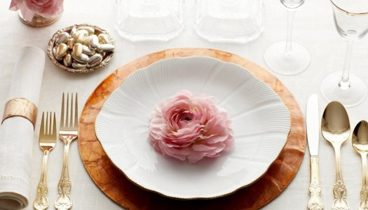 Сервировка праздничного стола для любимой