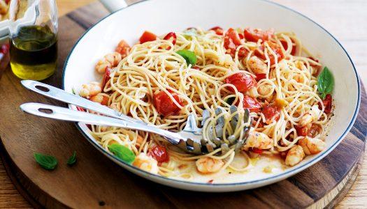 Готовим спагетти за 90 секунд, включаем секундомер